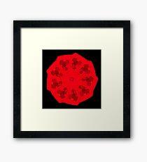 WDVT Mandala - 0037 - Sitting Still Framed Print