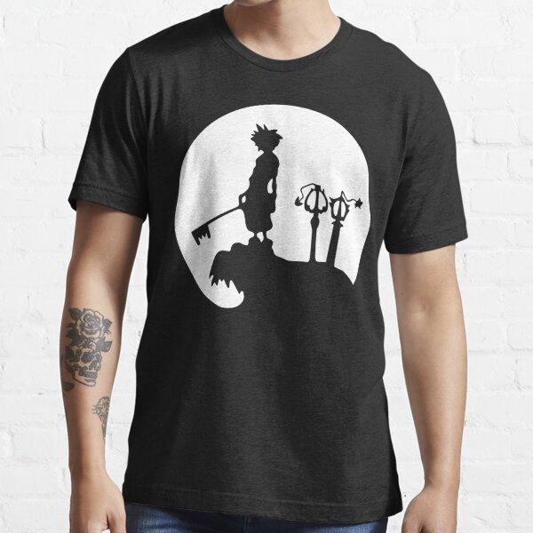 Royaume Hearts Sora Final Fantasy T-shirt essentiel
