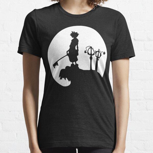 Kingdom Hearts Sora Final Fantasy Essential T-Shirt