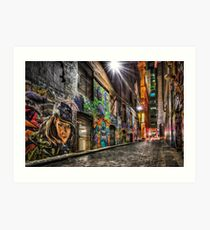 Hosier Lane Art Print