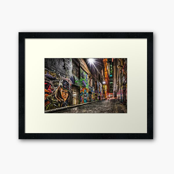 Hosier Lane Framed Art Print