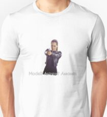 Nikita - Model? Actress? Assassin. Unisex T-Shirt