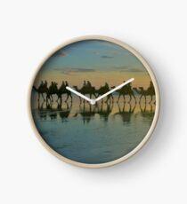 Cable Beach camel train  Clock