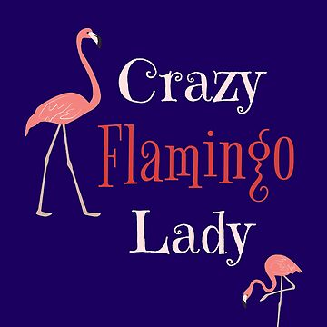 Flamingos Budgie T Shirt & Mom TShirts. Crazy Flamingo Lady Bird T-Shirt Wading Bird Tee by IATV