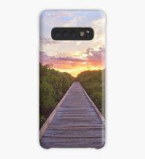 Streeters Jetty Sunrise  Case/Skin for Samsung Galaxy