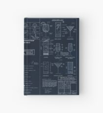 Cocktail Construction Chart - Blueprint Version by United States Forest Service Hardcover Journal