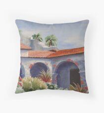 Mission San Juan Capitrano Throw Pillow