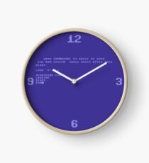 Commodore 64 Boot Screen - Load a Disk Clock