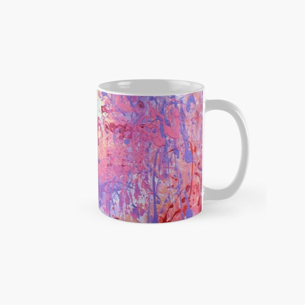 Contemporary Abstract Painting Classic Mug