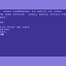 Commodore 64 Boot Screen - Load a Tape by ChoccyHobNob