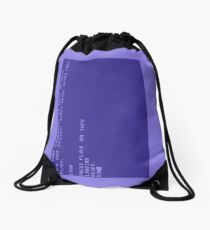 Commodore 64 Boot Screen - Load a Tape Drawstring Bag