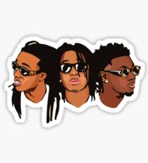 Migos Stickers | Redbubble