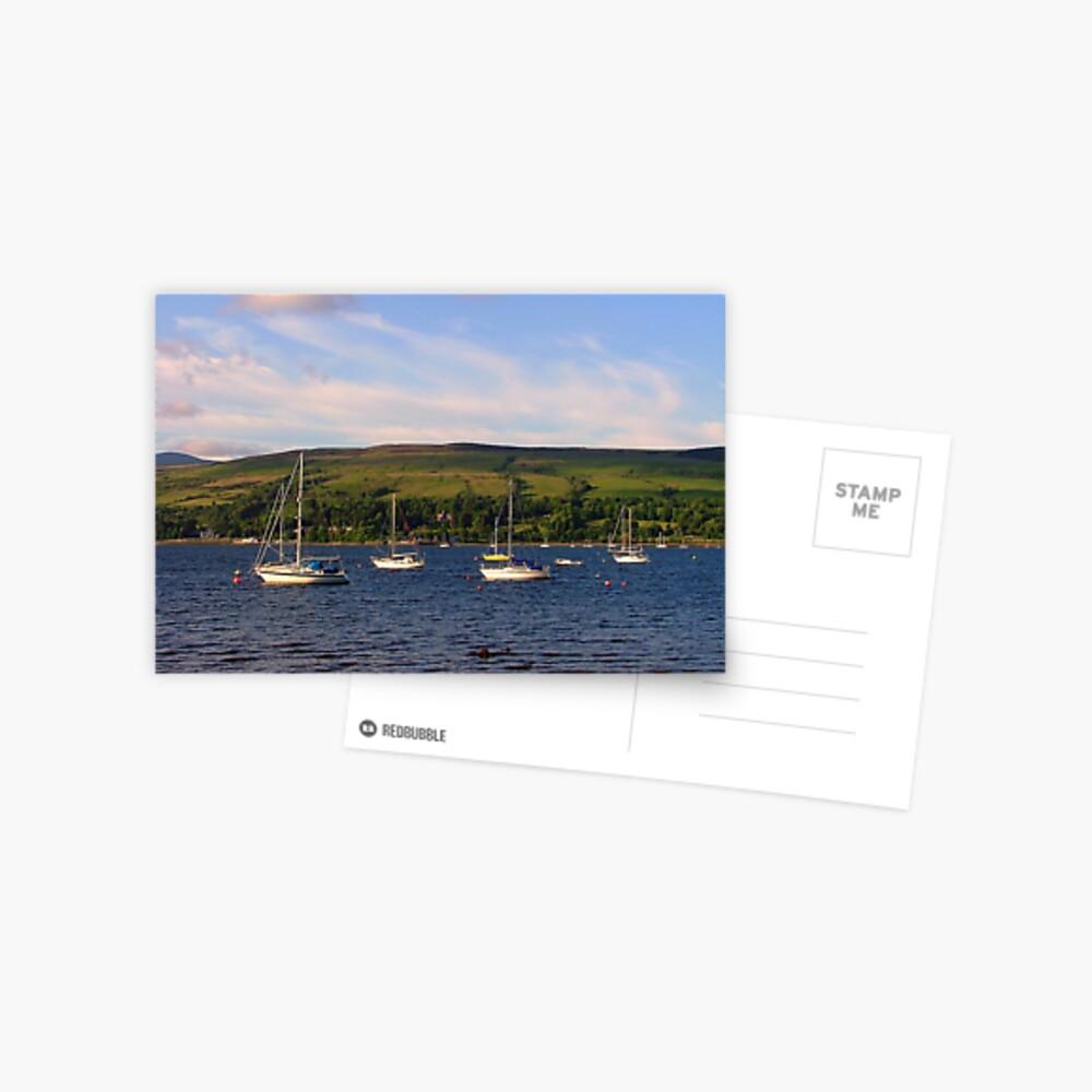 View  across the  Gareloch Postcard