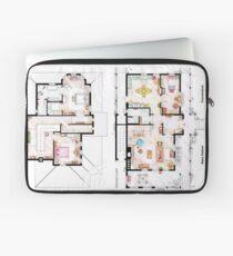 House of Lorelai & Rory Gilmore - Both Floorplans Laptop Sleeve