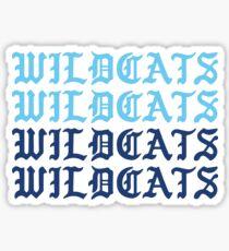 wildcats wildcats wildcats wildcats Sticker