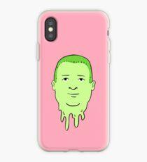 Vinilo o funda para iPhone patrón de colina bobby pegajosa verde y rosa