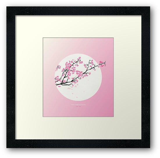 [3.26—3.30] First Cherry Blossoms by Lisa Furze