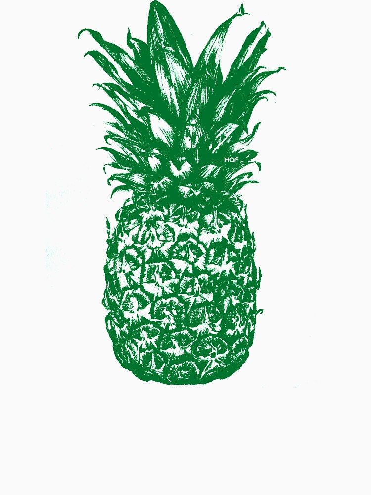 Green Pineapple  by dominatehaf