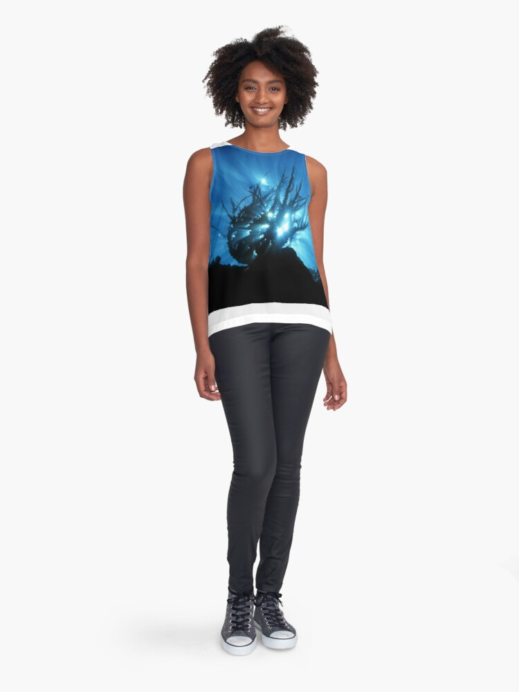 Alternate view of Purity of Form Sleeveless Top