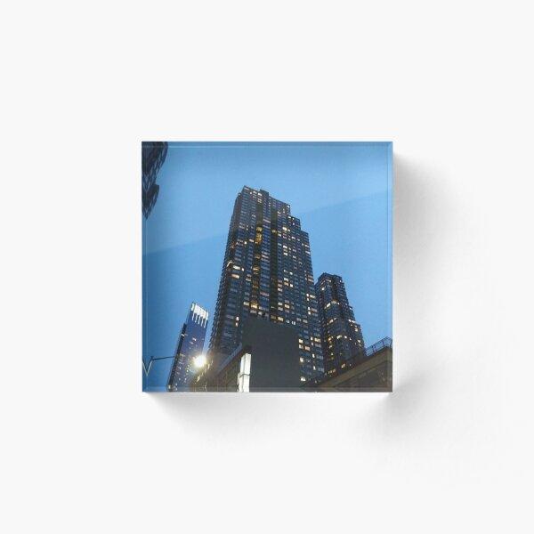 High-rise Building, Tower Block, Skyscraper Acrylic Block