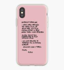 Klaroline Letter iPhone Case