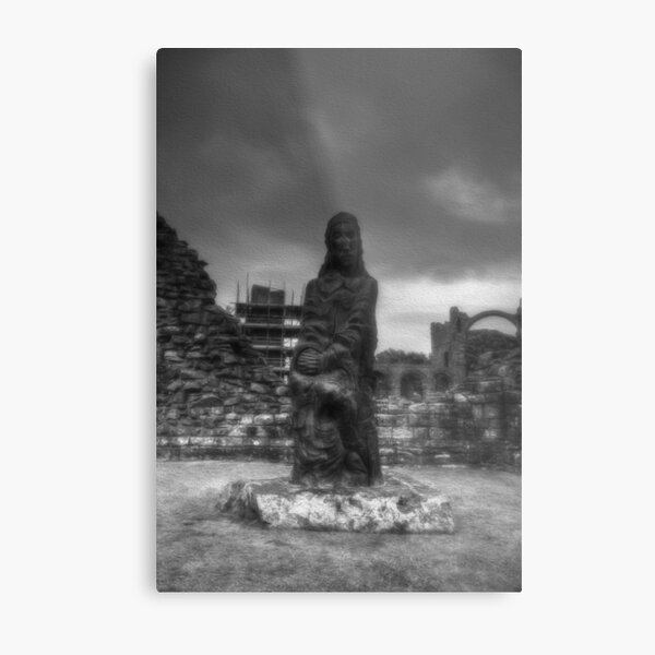 St Cuthbert Metal Print