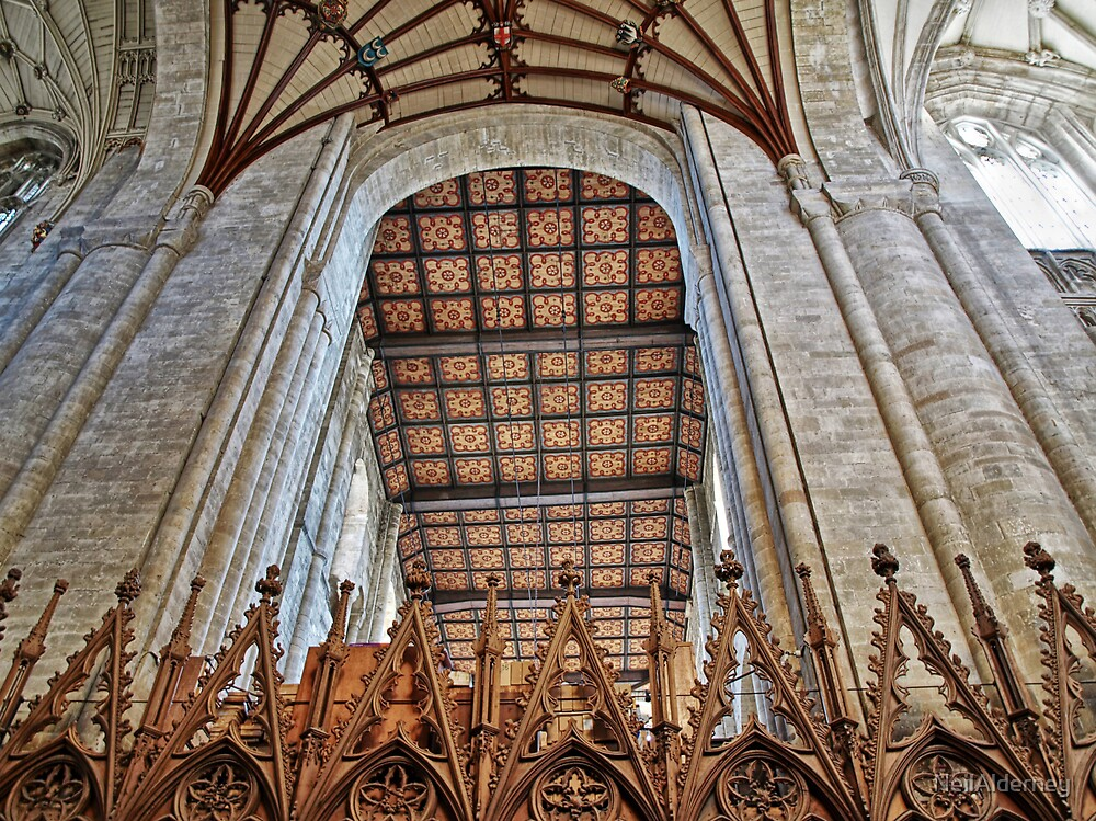 Norman Arch - Winchester Cathedral by NeilAlderney