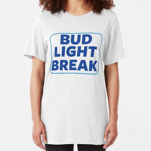 Bud Light Break Slim Fit T-Shirt