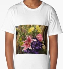 Flower Close-up, New York City Long T-Shirt