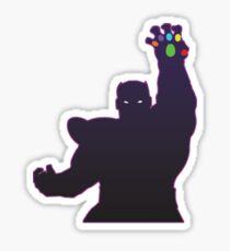 Deadly Shadow Sticker