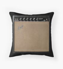 Guitar Amplifier/Amp Great for Musician/Guitar Player! Throw Pillow