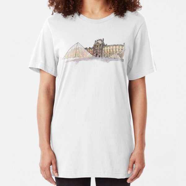 Louvre Museum Slim Fit T-Shirt