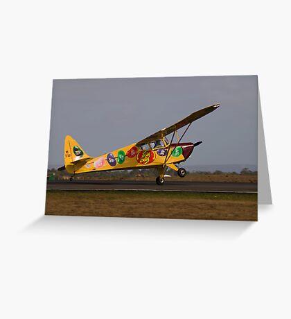 Fake Landing Greeting Card