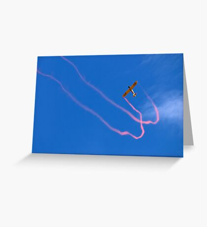 JellyBelly Aerobatics Greeting Card