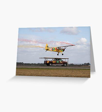Truck Landing Greeting Card