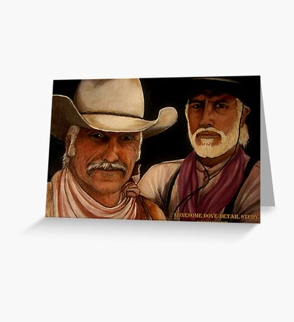 Lonesome Dove- Detail Study Greeting Card