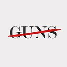 no guns by Dorit Fuhg