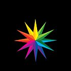 Rainbow Star by Jade Damboise Rail