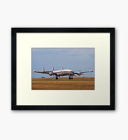 Super Connie Framed Print