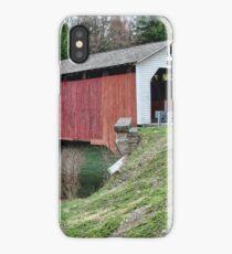 McGees Mills Covered Bridge iPhone Case/Skin