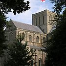 Central Tower and North Transept, Winchester Cathedral, southern England by Philip Mitchell