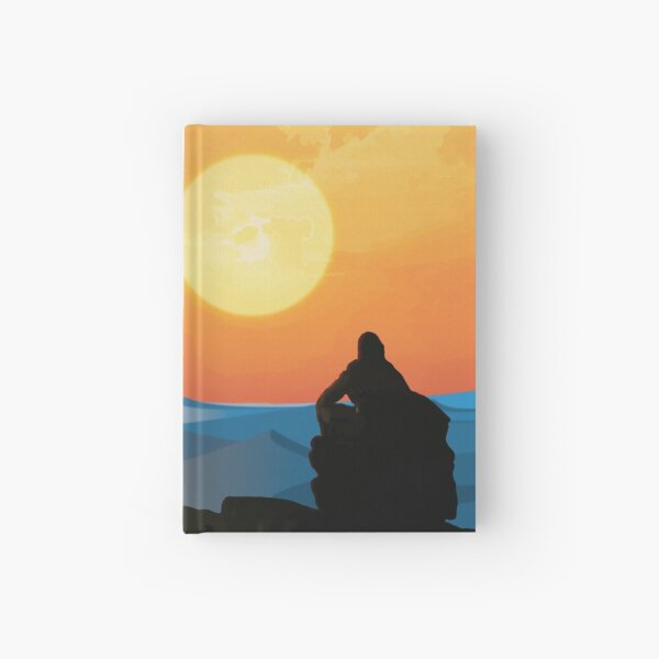 Hero's Journey: Binary Sunset Hardcover Journal