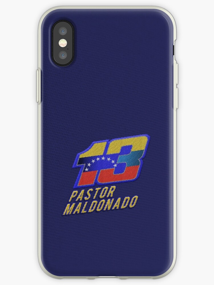 Pastor Maldonda #13 (Formula One Race Number) by FormulaFans