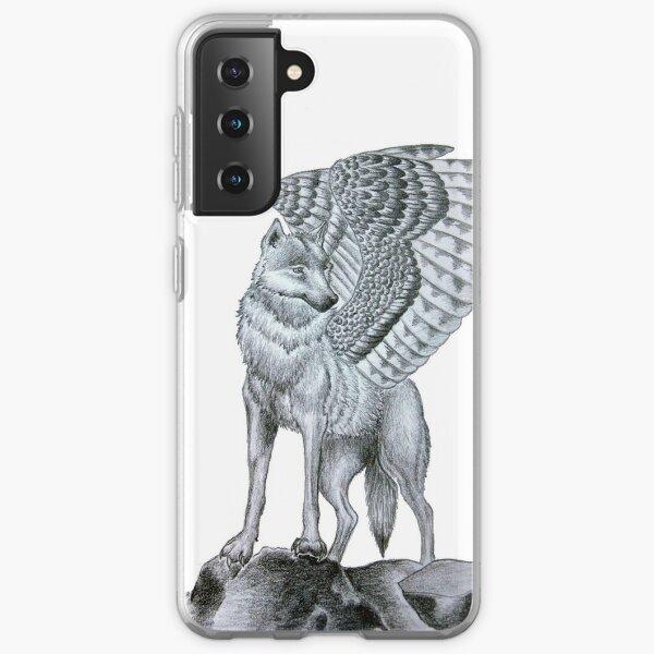 Winged Wolf  Samsung Galaxy Soft Case