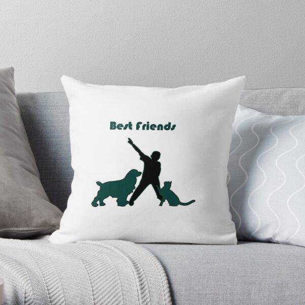 Mejores amigos Cojín