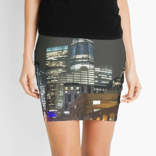 High-rise Building, Tower Block, Skyscraper Mini Skirt