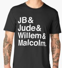 A LITTLE LIFE book JB & Jude & Willem & Malcolm (in white) Men's Premium T-Shirt