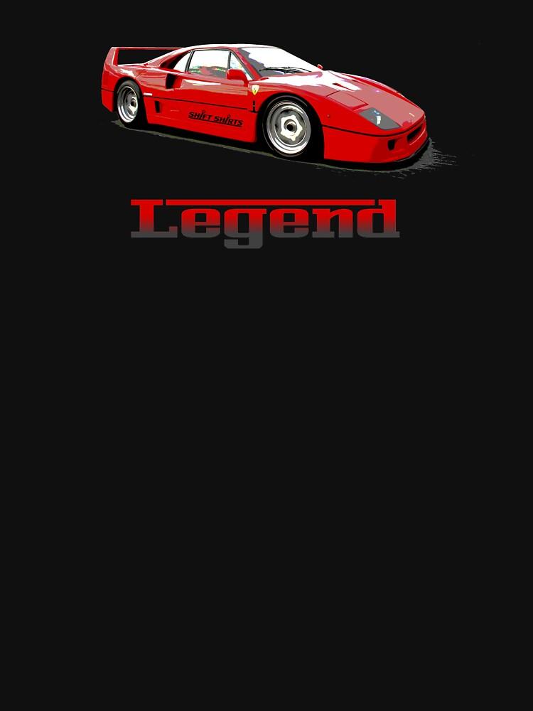 Shift Shirts The Legend  by ShiftShirts
