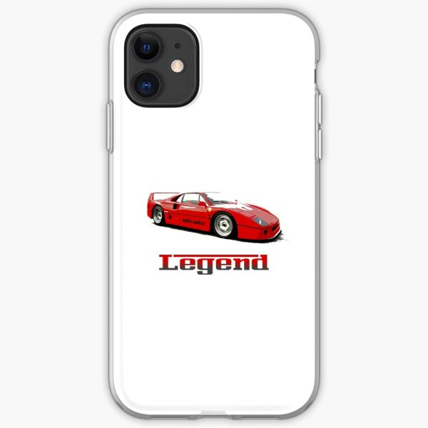 Shift Shirts The Legend  iPhone Soft Case