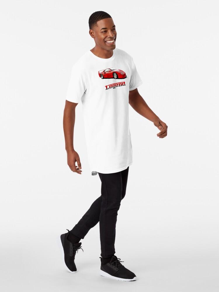 Alternate view of Shift Shirts The Legend  Long T-Shirt